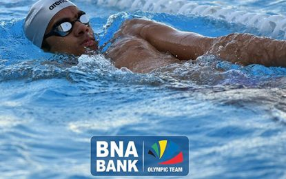 BNA Olympic Team parraine le champion Aziz Ghaffari pour les championnats de Tunisie d'hiver de natation