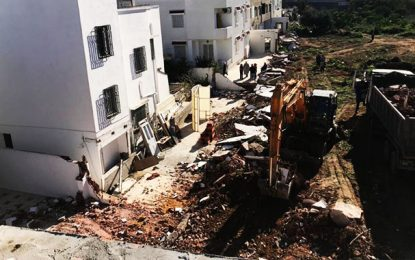 La municipalité du Bardo détruit des constructions anarchiques