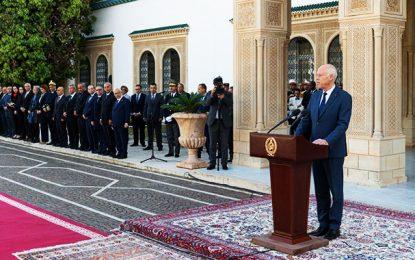 Saied préside la célébration du 63e anniversaire de la Douane tunisienne au Palais de Carthage