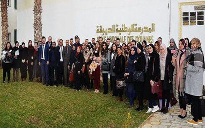 Des étudiants algériens en formation douanière et fiscale en Tunisie