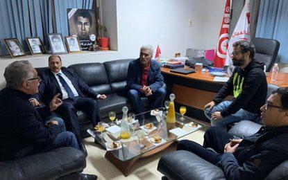 Rencontre entre Hamma Hammami et Mohamed Abbou : Deux militants aux parcours divergents