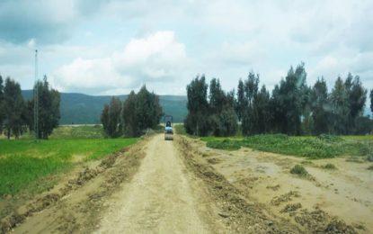 Aménagement de pistes agricoles pour relier les gouvernorats de Mahdia et Kairouan