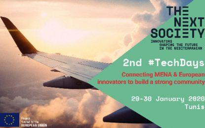 Les 2nd #Techdays» à Tunis rassembleront les innovateurs de l'UE et des pays Mena