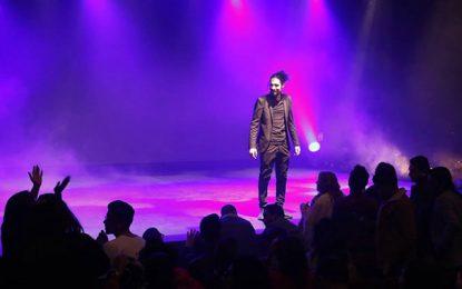 ''Faux profil'', le premier one man show du jeune humoriste Ahmed Laâjimi