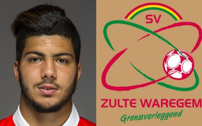 Football : L'international tunisien Bassem Srarfi va s'engager avec Zulte Waregem