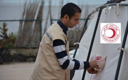 Croissant-Rouge : Plan d'urgence pour accueillir les réfugiés en Tunisie, «si la situation en Libye venait à se détériorer»