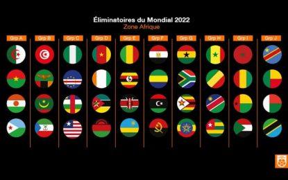 Qualifications au Mondial 2022 : La Tunisie avec la Zambie la Mauritanie et la Guinée Bissau