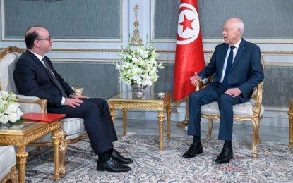 Composition du gouvernement : Kaïs Saïed  reçoit Elyes Fakhfakh (Vidéo)