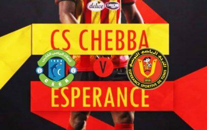 Espérance de Tunis-Chebba en live streaming : Championnat de Tunisie de football