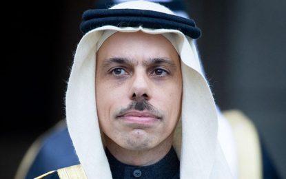 Le ministre saoudien des Affaires étrangères, Faisal Ben Farhan, en visite officielle à Tunis