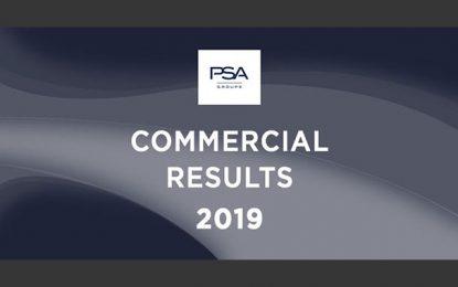 Le Groupe PSA annonce 3,5 millions de véhicules vendus dans le monde en 2019