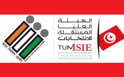 Tunisie : L'Isie enrichit ses acquis avec le soutien de la Commission indienne des élections