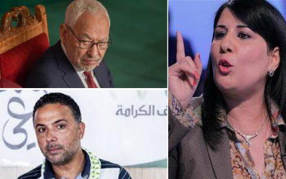 Assemblée : Le PDL porte plainte contre Ghannouchi, Khedher et Makhlouf (Vidéo)