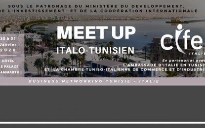 Meet up tuniso-italien les 30 et 31 janvier 2020 à Gammarth