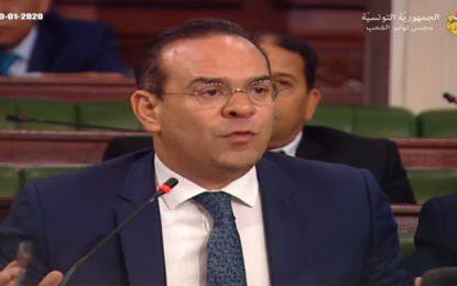 Mehdi Ben Gharbia à ses collègues : «Pour l'intérêt du pays, votez contre ce gouvernement»