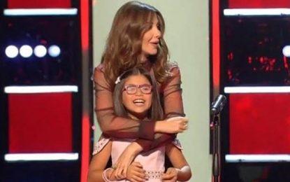 Une Tunisienne fait un carton plein auprès du jury de The Voice Kids MBC