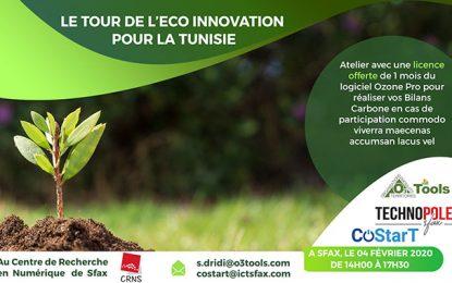 Atelier à Sfax : Ozone Pro pour réaliser les bilans carbone