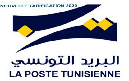 Les nouveaux tarifs en vigueur de La Poste Tunisienne en 2020