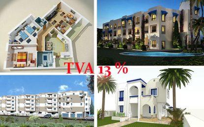 Promotion immobilière : La TVA de 13% reconduite pour 3 ans
