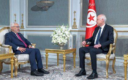 Rached Ghannouchi : Le président de la république n'a, jusque-là, pas donné suite à mon initiative