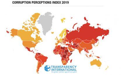 Corruption 2019 : la Tunisie classée 74e sur 180 pays