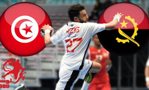 Handball CAN 2020 : Tunisie – Angola en live streaming