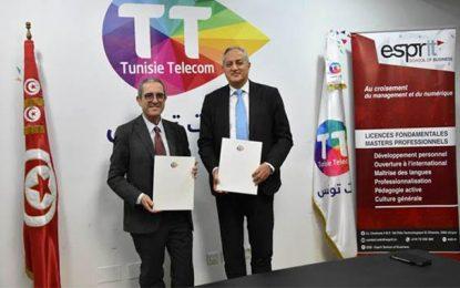 Tunisie Telecom – ESB : Partenariat pour l'apprentissage et l'innovation