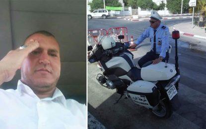 Décès de l'agent Harrabi dans un accident de la route à Sidi Bouzid