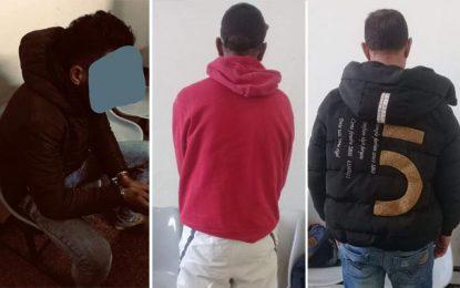 Agressions et braquages à Tunis : Trois individus arrêtés