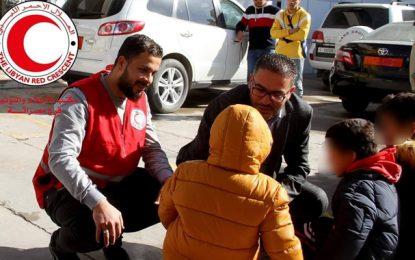 Trente-six enfants de terroristes tunisiens bloqués dans les prisons libyennes