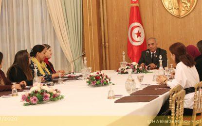 Habib Jemli se réunit avec «les rares femmes compétentes qu'il a trouvées en Tunisie»