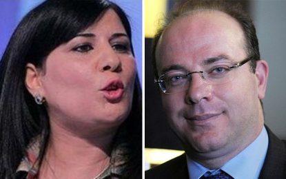 L'accusant d'être «le ministre d'Ennahdha», Moussi ne soutiendra pas le gouvernement de Fakhfakh