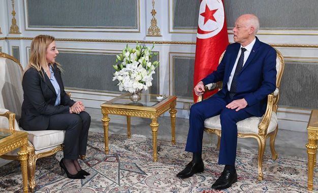 Le président tunisien Kaïs Saïed en visite à Alger ce dimanche