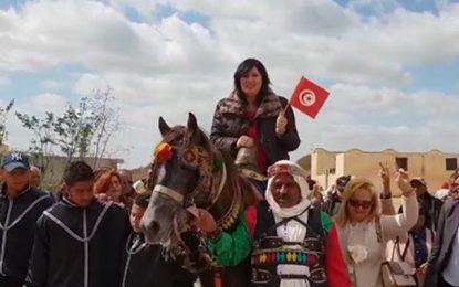 Abir Moussi appelle à écarter Ennahdha et à changer la constitution : «La vraie révolution est possible»