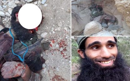 Abou Souhaieb, le 2e terroriste éliminé à Kasserine, a participé à 12 attaques terroristes depuis 2013 (Photos)