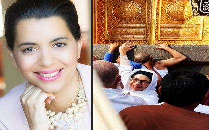 Amel Karboul partage l'émotion de son petit pèlerinage avec ses amis sur les réseaux sociaux (photos)