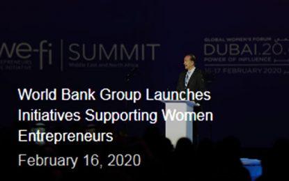 La Banque mondiale lance deux initiatives en faveur des femmes entrepreneures arabes