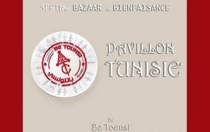 Le Pavillon Tunisie by Be Tounsi relooke le traditionnel Bazar diplomatique de bienfaisance