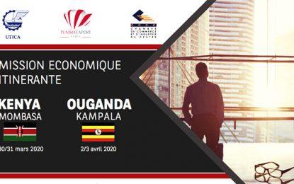 Mission itinérante d'hommes d'affaires tunisiens au Kenya et en Ouganda en mars et avril 2020