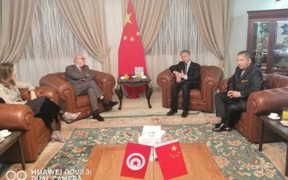 «Les Tunisiens bloqués à Wuhan sont en bonne santé», rassure Dr Basly après sa rencontre avec l'ambassadeur de Chine