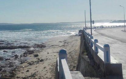Bizerte : Démarrage du projet de protection de la corniche contre l'érosion marine