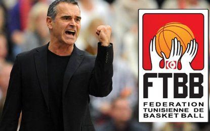 Dirk Bauermann, nouvel entraîneur allemand de l'équipe de Tunisie de basket-ball