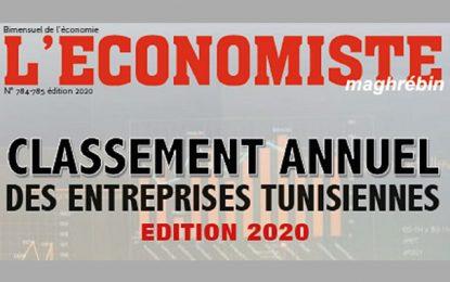 Classement des entreprises tunisiennes 2020: Sur les 10 premières, 8 sont publiques