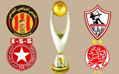 Ligue des champions : Zamalek-Espérance, 3 duels dans 3 pays, en 3 semaines !