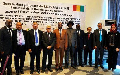 Transfert de l'expertise tunisienne à la Guinée pour  améliorer la compétitivité et l'exportation de filières mangue et anacarde