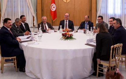 Vers une version finale du document contractuel proposé par Elyes Fakhfakh