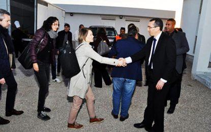 Une délégation de haut niveau de la KfW visite la station photovoltaïque Tozeur 1 et 2