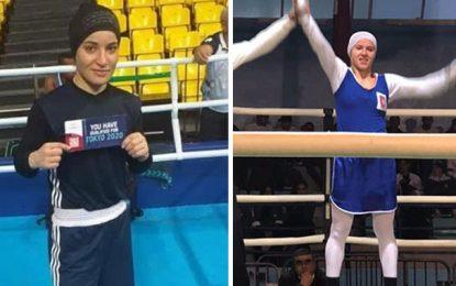 Boxe : Khouloud Halimi et Mariem Homrani qualifiées pour les JO 2020