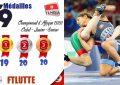 Championnat d'Afrique de lutte : La Tunisie remporte 59 médailles, dont 19 en or (Photos)