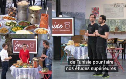 Les Tunisiens Majed et Wissem font la promotion de leur bar à couscous, dans l'émission «Qui veut être mon associé ?», sur M6 (Vidéo)